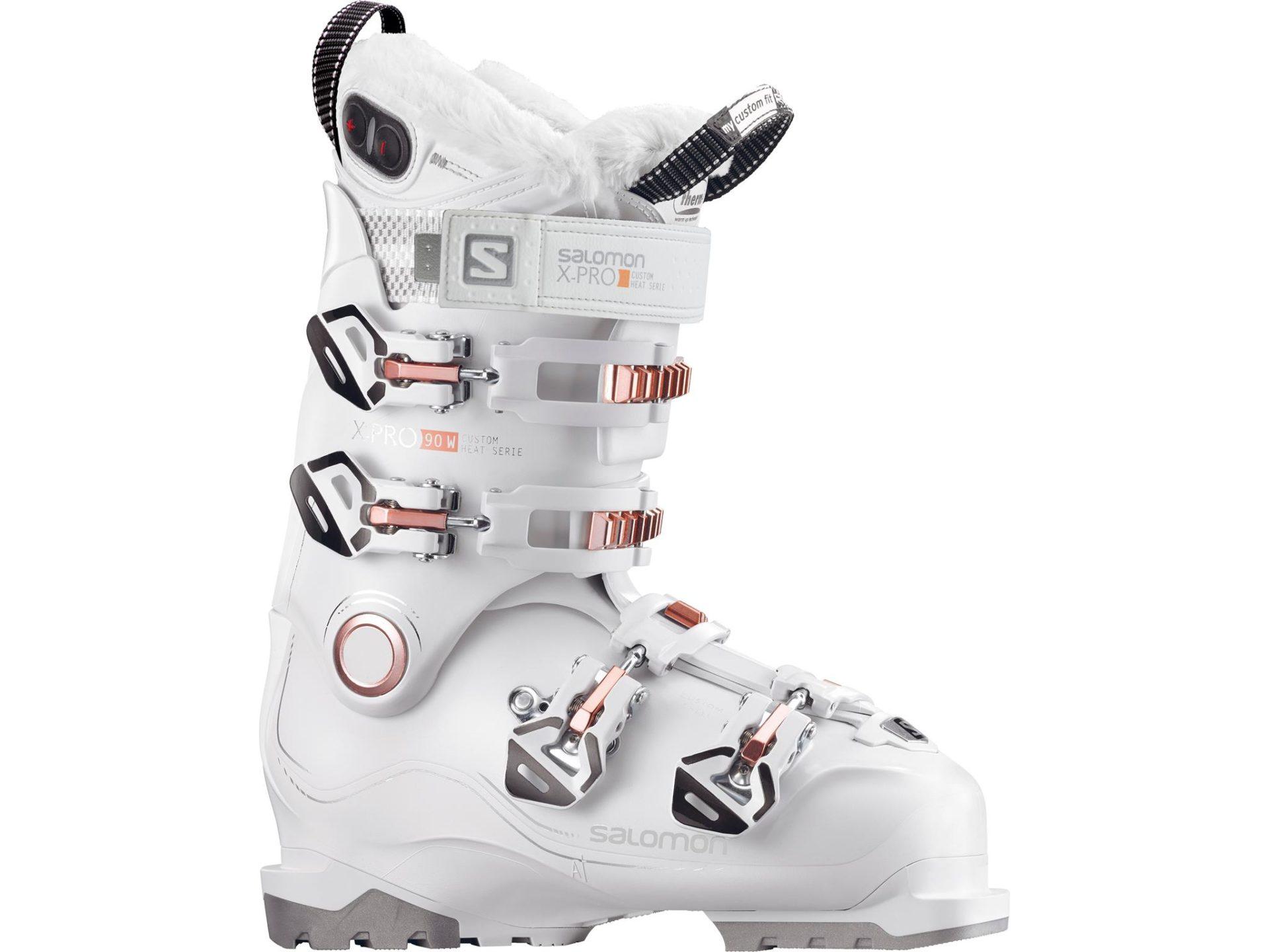 Buty narciarskie Salomon M X Pro 100 Black Custom Heat