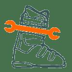 serwis butów narciarskich