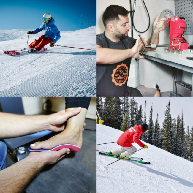 dopasowanie butów narciarskich przez bootfittera
